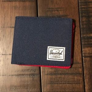 Men's Herschel bi-fold wallet